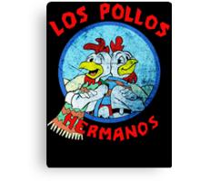 Los Pollos Hermanos Wink retro style Canvas Print