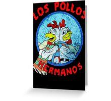 Los Pollos Hermanos Wink retro style Greeting Card