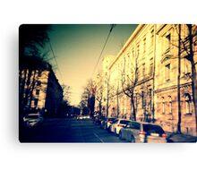 street in Helsinki Canvas Print