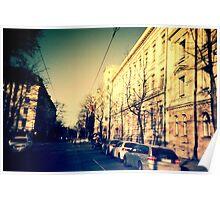 street in Helsinki Poster