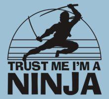 Trust Me I'm A Ninja Kids Tee