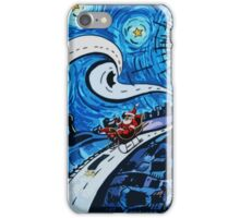santa clause happy  iPhone Case/Skin