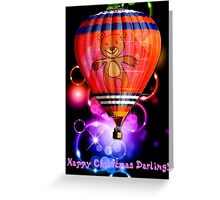 """Happy Christmas Darling"" Greeting Card"