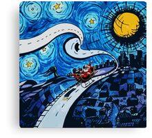 santa clause happy  Canvas Print