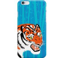 Tiger in Bamboo iPhone Case/Skin