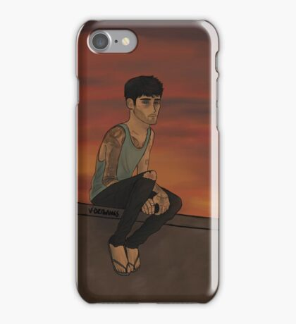 Z - Off where the wind blows. iPhone Case/Skin
