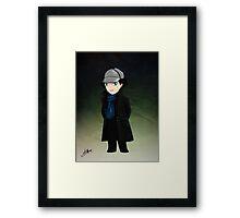 Little Detective Framed Print