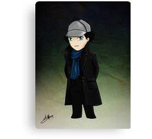Little Detective Canvas Print