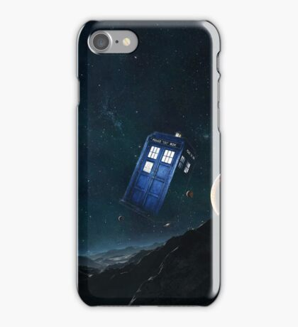 tardis  among planets  iPhone Case/Skin