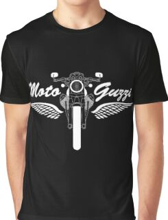 Moto Guzzi V7 Cafe Racer Front Graphic T-Shirt