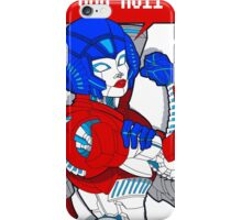 FEMBOTS UNITE! (OPTIMUS VARIANT COLORS) iPhone Case/Skin