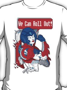 FEMBOTS UNITE! (OPTIMUS VARIANT COLORS) T-Shirt