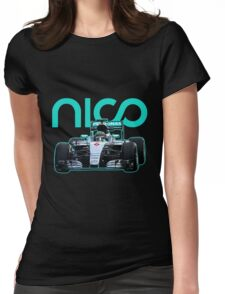 Nico Rosberg best formula 1 driver Womens Fitted T-Shirt