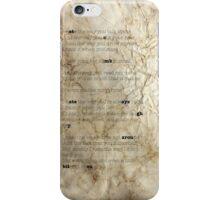 10things iPhone Case/Skin