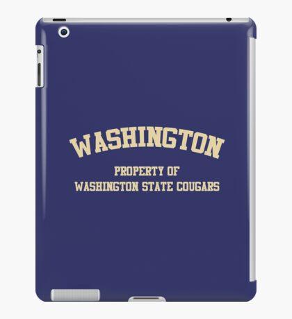 Washington State - Washington Rivalry iPad Case/Skin