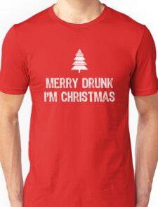 Merry Drunk I'm Christmas Unisex T-Shirt