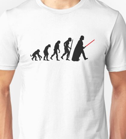Evolution  lightsaber Unisex T-Shirt