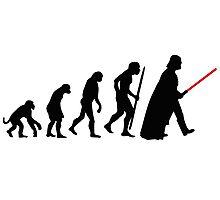 Evolution  lightsaber Photographic Print
