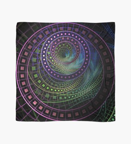 The Fractal Technicolor Rainbow of Oz the Great and Powerful Scarf