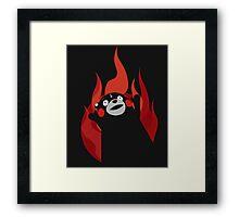 Satanic Bear Framed Print
