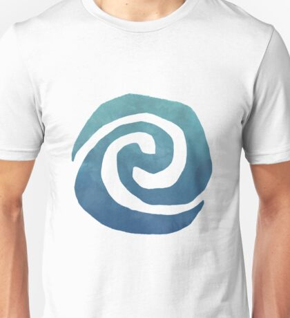 Watercolor Moana Swirl  Unisex T-Shirt