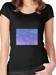 Electric Poppy Women's Fitted Scoop T-Shirt