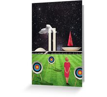 Modern Vintage Collection -- Planalto Central Greeting Card