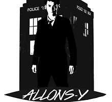 Tenth Doctor Allons-y. by GemoDawn
