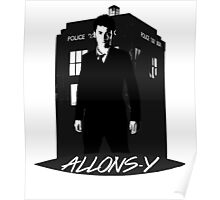 Tenth Doctor Allons-y. Poster