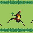 Hanuman's Leap by SusanSanford