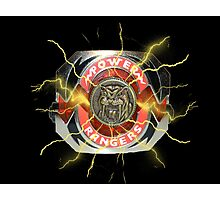 It's Morphin Time - SABER-TOOTH TIGER Photographic Print