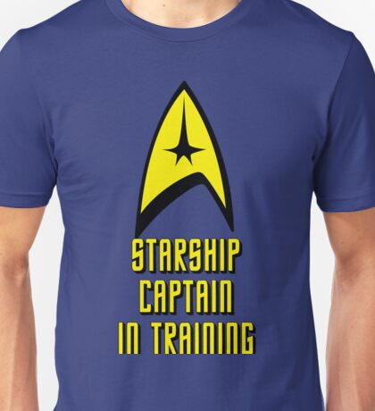 Starship Captain In Training Unisex T-Shirt