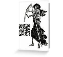 QR Code Greeting Card