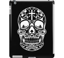 Sugar Skull Black iPad Case/Skin