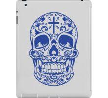 Sugar Skull Blue iPad Case/Skin