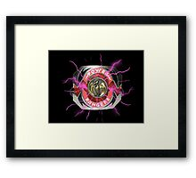It's Morphin Time - PTERODACTYL Framed Print