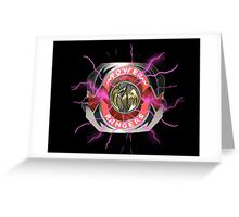 It's Morphin Time - PTERODACTYL Greeting Card