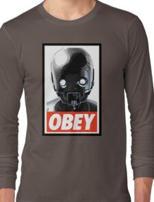 Obey K-2SO Long Sleeve T-Shirt