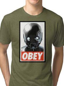 Obey K-2SO Tri-blend T-Shirt