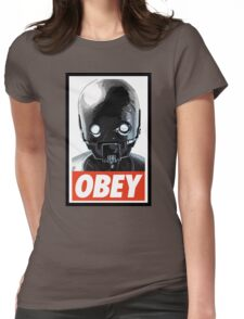 Obey K-2SO Womens Fitted T-Shirt