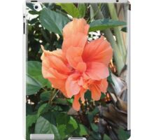 Polynesian Orange Hibiscus iPad Case/Skin