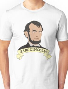 Babe Lincoln (Large) Unisex T-Shirt
