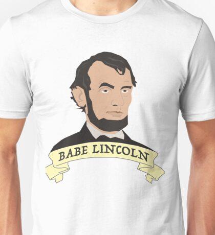 Babe Lincoln (Large) Unisex T-Shirt