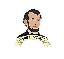 Babe Lincoln (Large) Photographic Print