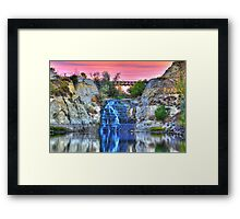 Blissful Morning Reflections Framed Print