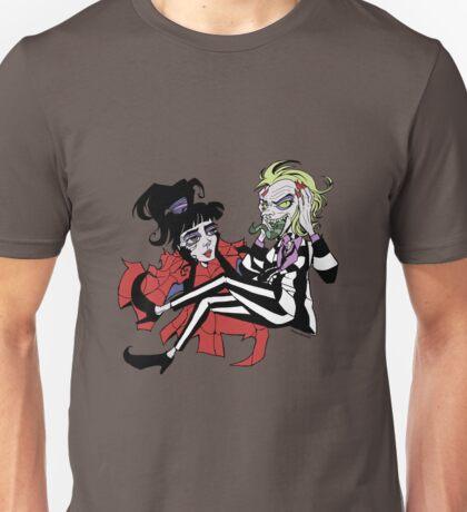 Beetlejuice & Lydia Unisex T-Shirt