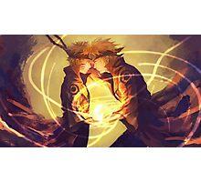 Naruto & Minato Photographic Print