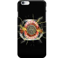 It's Morphin Time - SABER-TOOTH TIGER iPhone Case/Skin