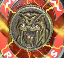 It's Morphin Time - SABER-TOOTH TIGER Sticker