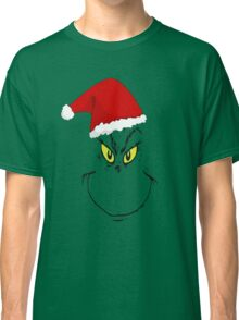Grinch smile with hat Classic T-Shirt